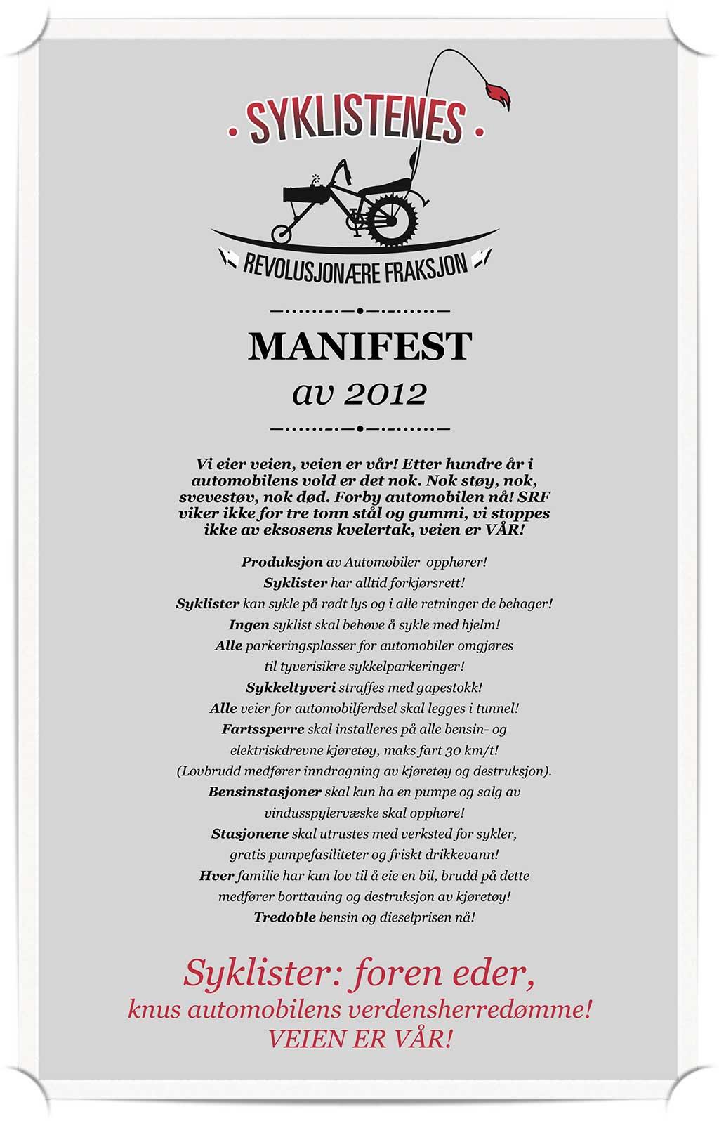 Manifest av 2012