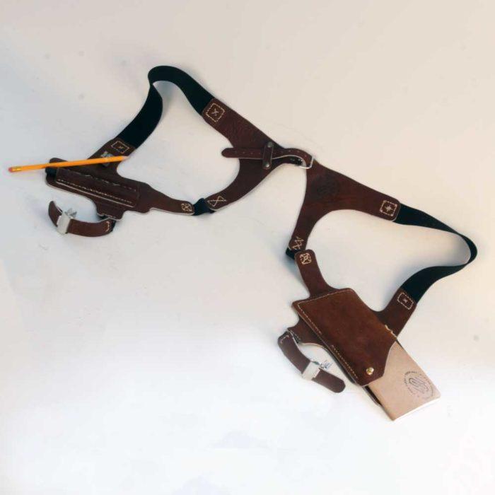 Sketchbook shoulder holster